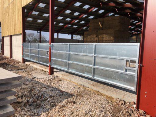 Sheeted gates