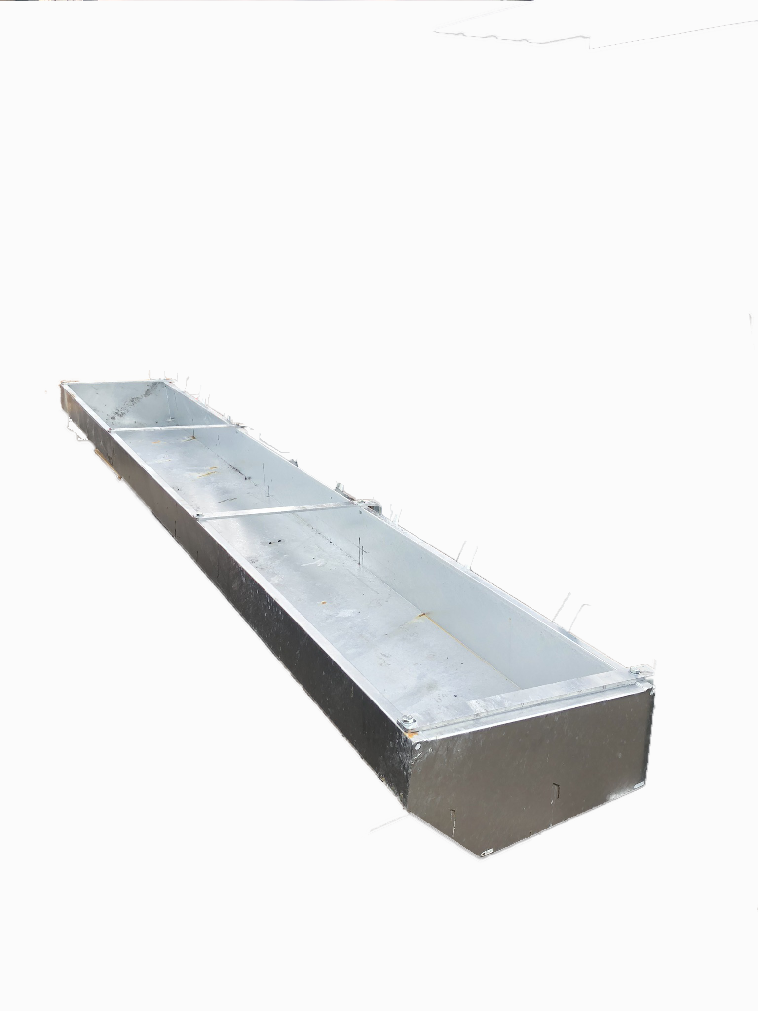 Hook Over Cattle Feed Troughs